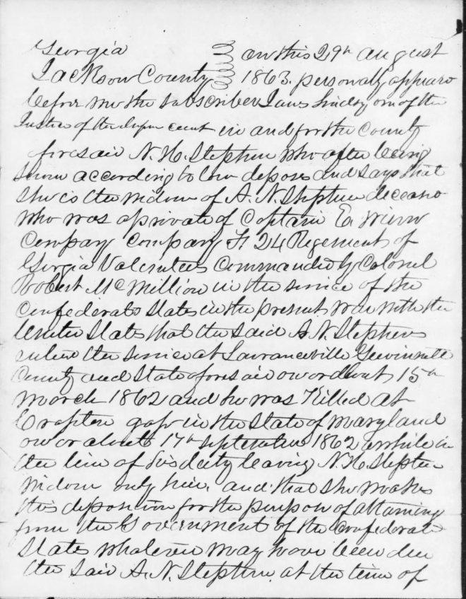 Stephens, NH-affidavit