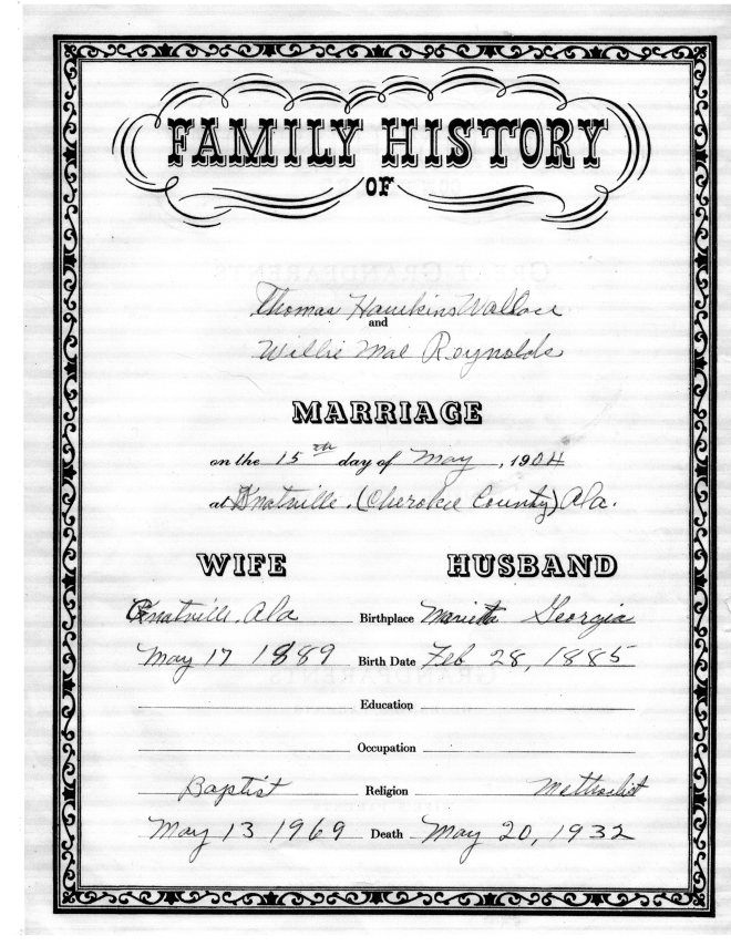 THW Family Record_1